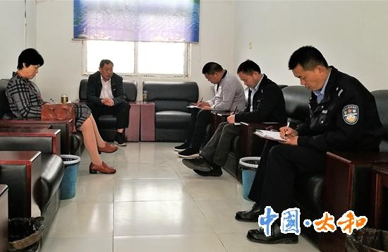 太和县人大常委会副主任陆凤杰到宫集镇督导