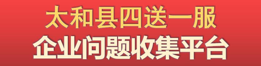 """太和縣""""四送一服""""服務平臺"""