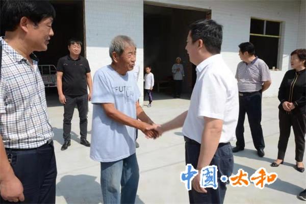 太和县委书记杨波深入基层督导各项重点工作