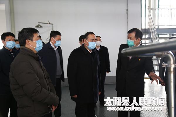 市委副書記、市長孫正東到太和縣調研企業復工復產工作