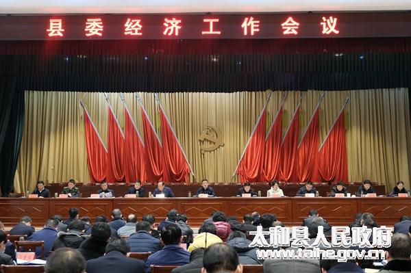太和县召开县委经济工作会议
