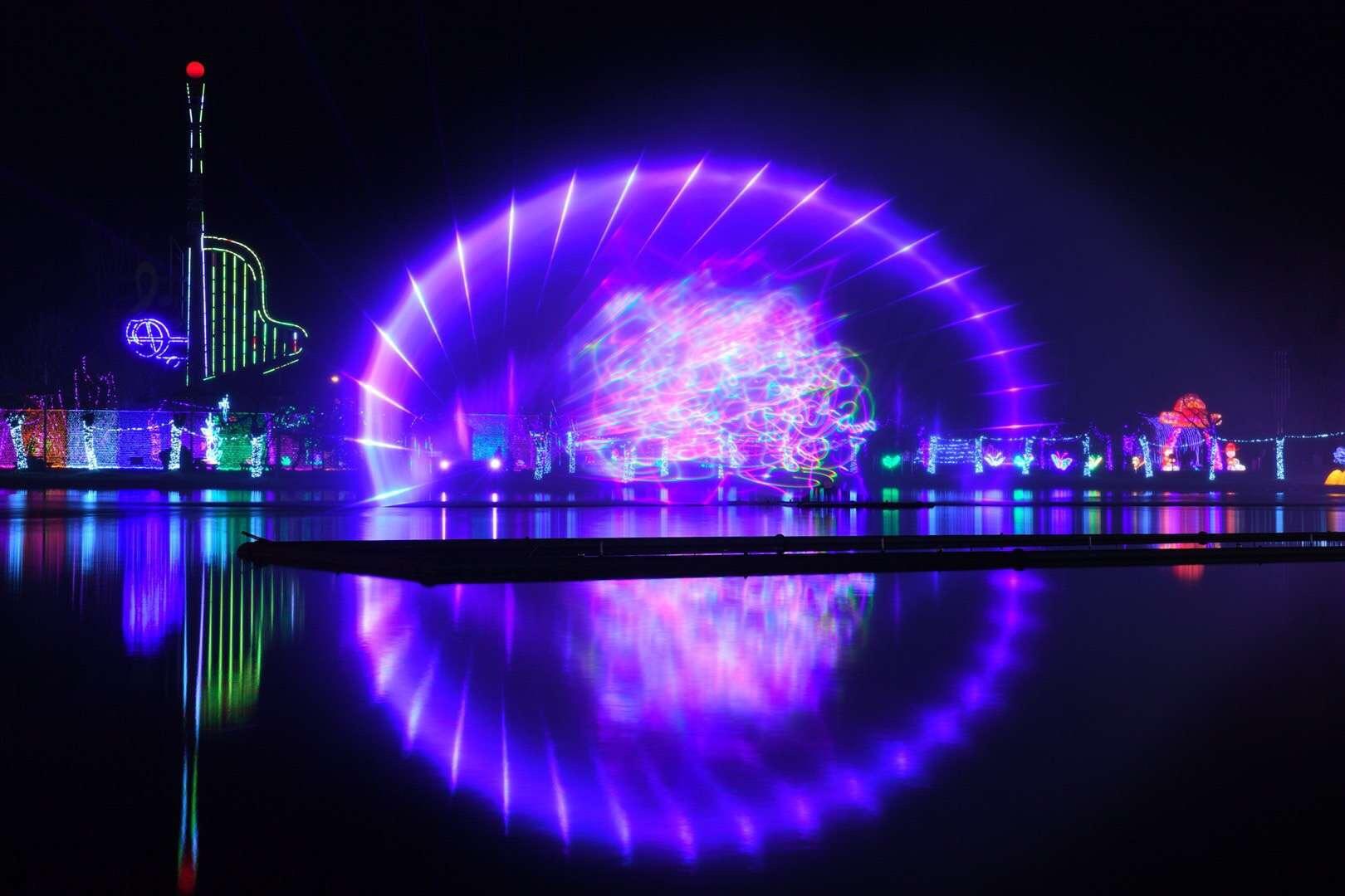 阜阳生态园灯展