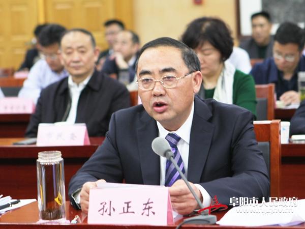 孙正东参加国务院第一次廉政工作电视电话会议阜阳分会场会议