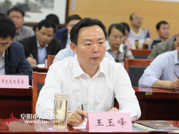 王玉峰参加全省秸秆禁烧电视电话会议阜阳分会场会议