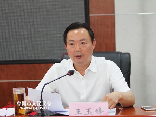 王玉峰参加我市创建国家园林城市动员大会