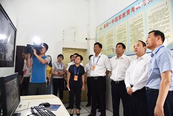 李平带队巡视阜城部分高考考点