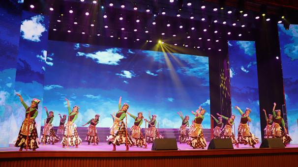 2018年中国西藏雅砻文化节赴阜阳答谢演出举行
