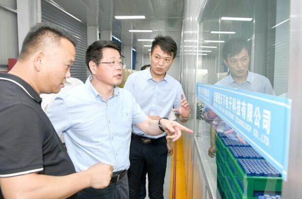 杨光荣到太和颍上调研经济社会发展