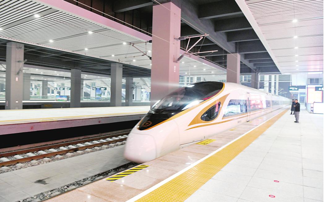 商合杭高鐵合肥以北段和鄭阜高鐵開通運營