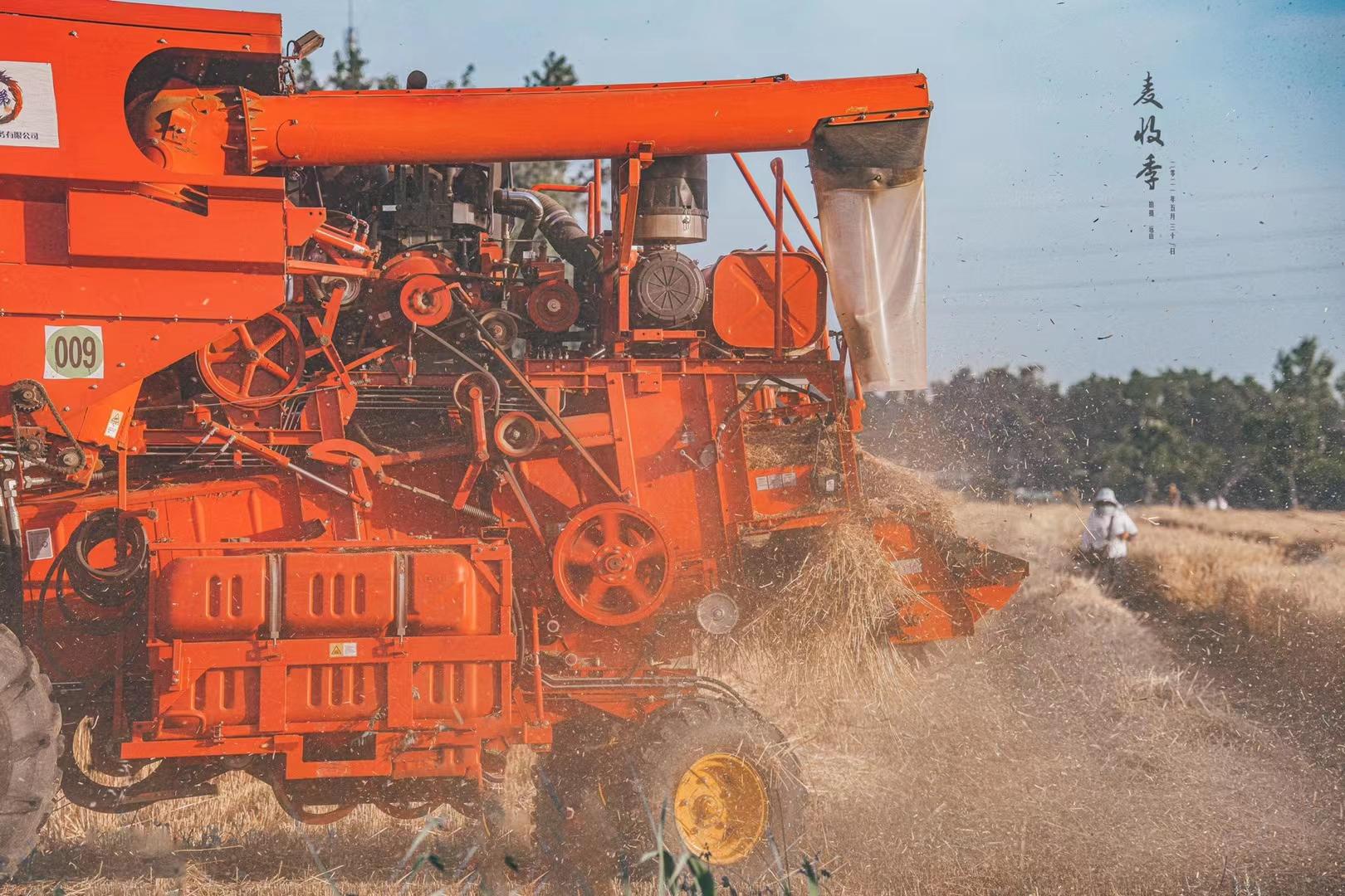 麦收季(收割机)