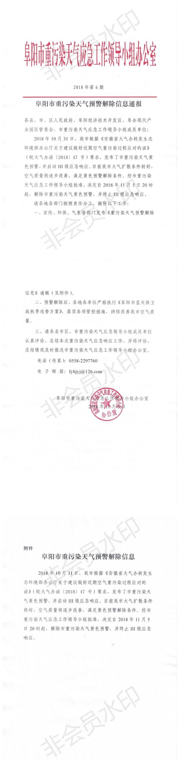 阜阳市重污染天气预警解除信息通报_0.png