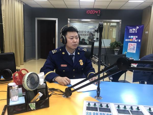 颍泉区消防救援大队做客市广播电台共话冬季