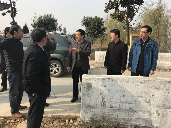 市交通运输局副局长王朝东督查太和县河长制工作落实情况