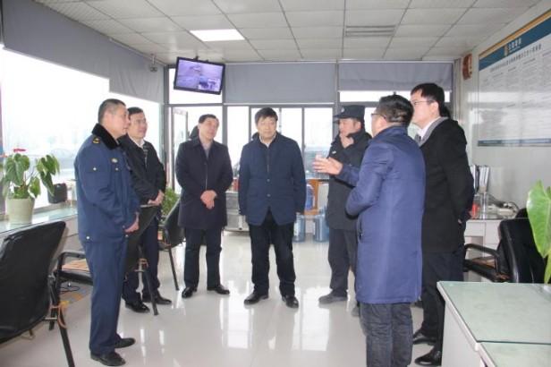 省交通厅副厅长江宗法督查指导阜阳市春运暨安全生产工作