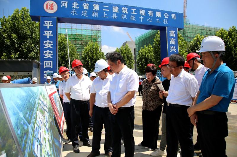颍上县召开城市建设突出问题攻坚工作现场推进会