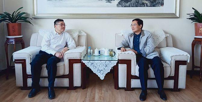中國食品藥品檢定研究院組織來臨調研