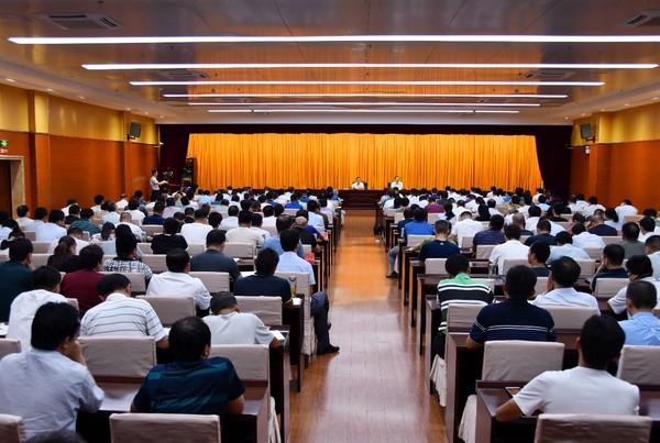 臨泉縣委召開理論學習中心組學習(擴大)會議