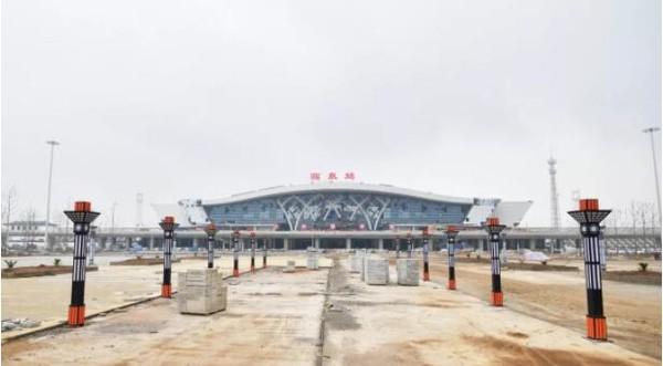 探访临泉高铁站!