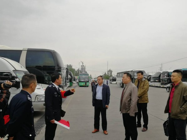 临泉县组织检查道路运输市场安全和企业落