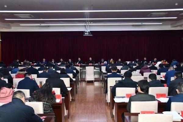 临泉县委常委会暨县委理论学习中心组扩大会议召开