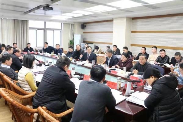 临泉县委常委会会议召开