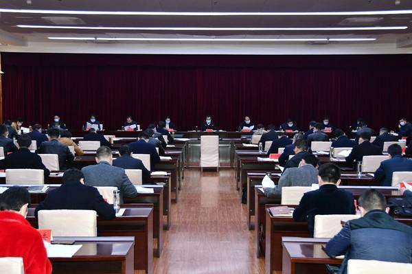 临泉县委常委会暨县扶贫开发领导小组会议召开