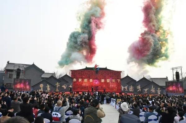 第五届安徽省民间杂技艺术节隆重开幕