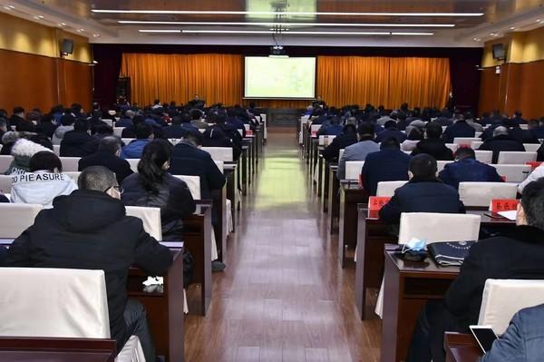 市委宣讲团到临泉县宣讲党的十九届五中全会精神