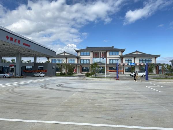 西湖服务区项目规划验收顺利通过