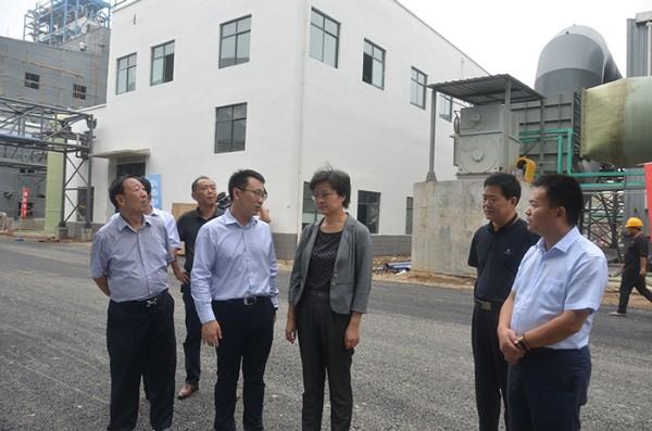 陳軍到界首調研特色農業、工業經濟等工作