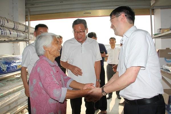 省委組織部部務委員、省委第八巡視組組長俞倫洋到光武鎮調研基層黨建工作