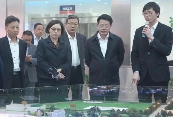 楊光榮赴浙江招商引資 南都天能界首項目未來可期