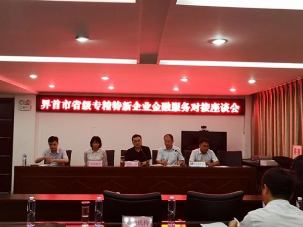 市经信局组织召开金融服务对接座谈会