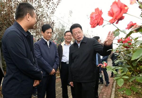 杨光荣主持召开省直定点帮扶界首市脱贫攻坚工作座谈会