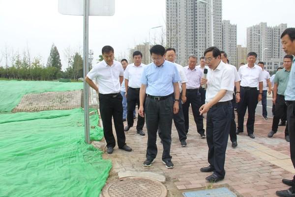 杨光荣到颍东区督导突出生态环境问题整改工作