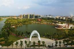 《陶子河公园》  李明 摄