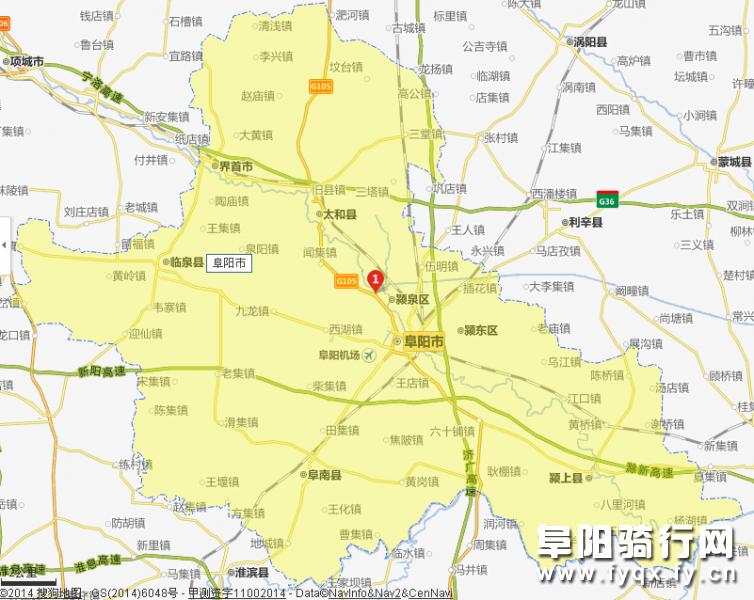 安徽省阜阳市太和县三塔地图