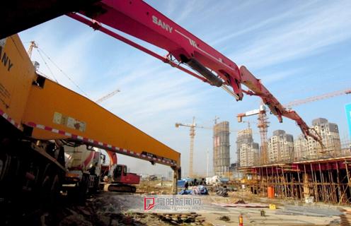 城南新区建设快速推进