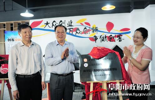 阜阳青年电商产业园正式开园