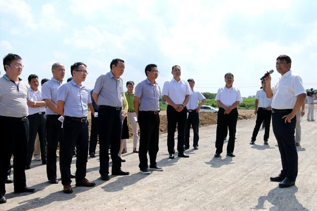 長豐縣黨政代表團到潁上縣考察城市規劃建設管理等工作