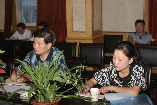 颍上县国土资源局党组召开专题民主生活会