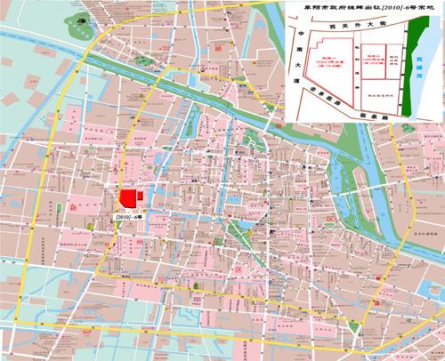 临泉县城街道地图